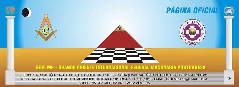 Página OFICIAL do Facebook do GOIF - Grande Oriente Internacional Federal - Maçonaria Portuguesa