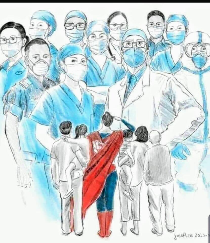 14.03.2020 - 22H00 - Apoio aos profissionais de saúde e ao Serviço Nacional de Saúde de Portugal