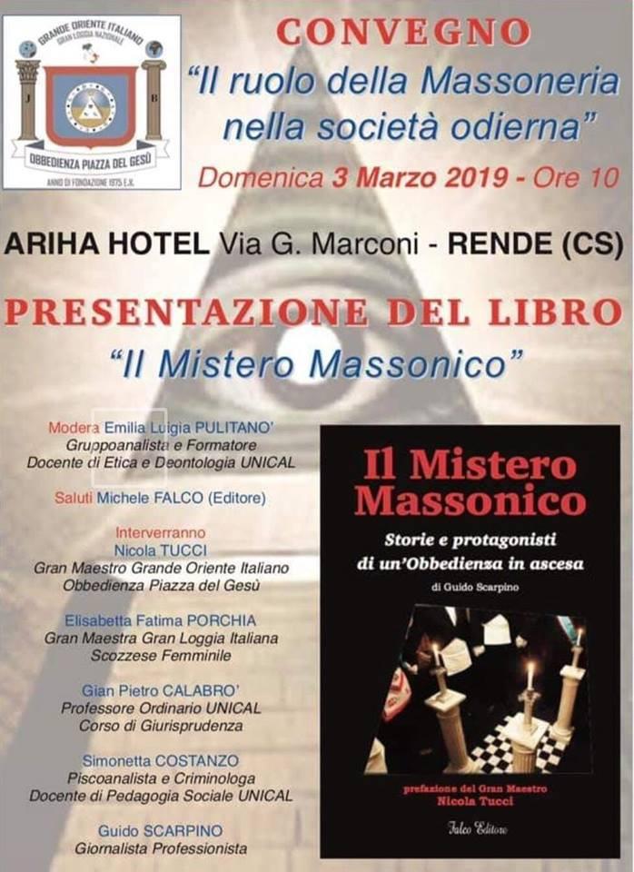 Massoneria | Il Mistero Massonico | 03.03.2019