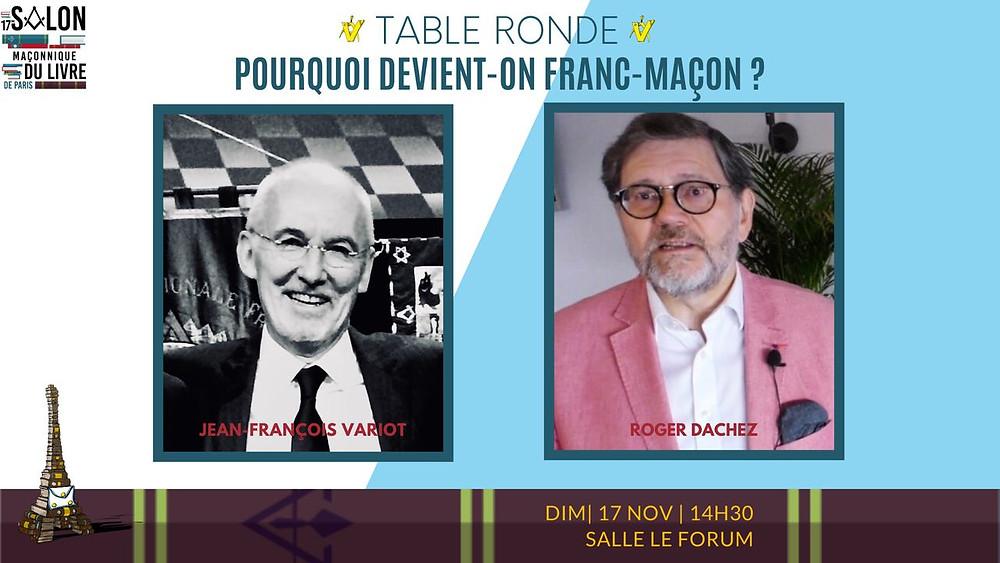 Roger DACHEZ et Jean-François VARIOT | 17.11.2019 | 14H30 | France
