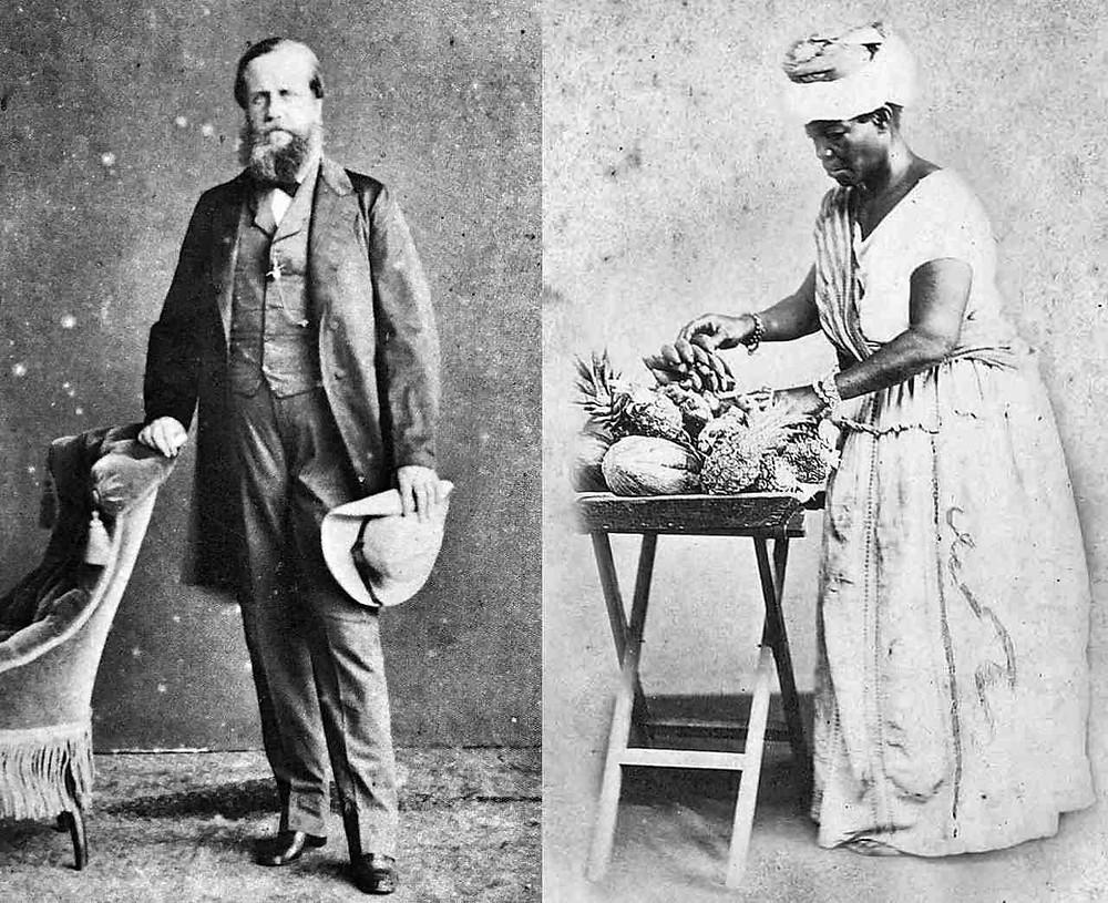 História - DOM PEDRO II do Brasil e a LIBERTAÇÃO da ESCRAVA EVA