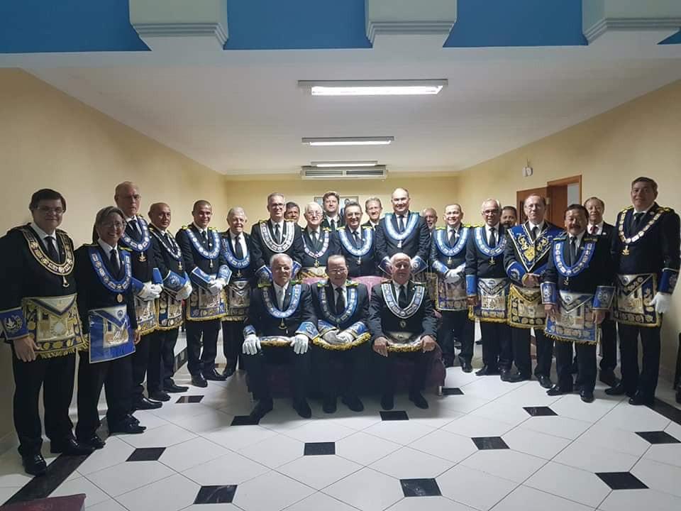 Noite memorável em Cuiabá, na celebração dos 32 anos do Grande Oriente do Brasil - Mato Grosso