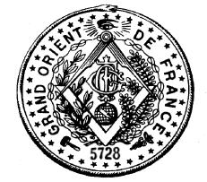 GODF suspende relações com a Grande Loja Mista Memphis Misraïm   França