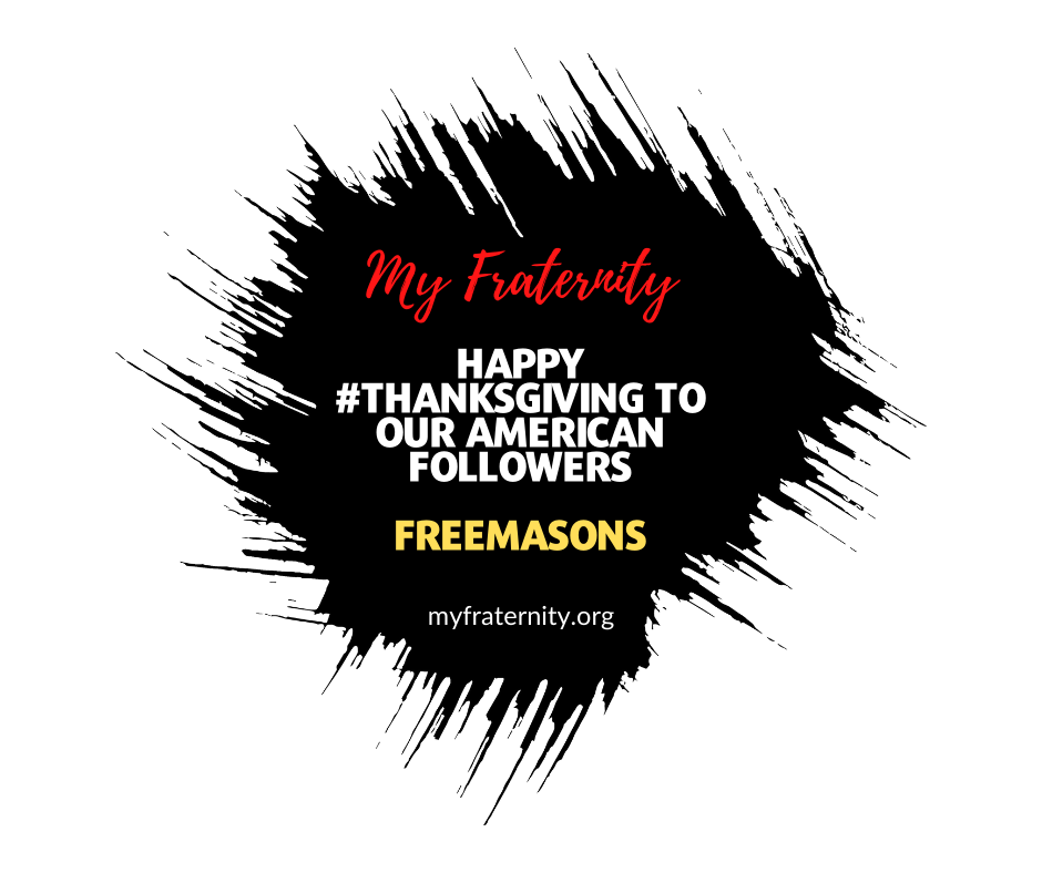 Happy #Thanksgiving to our American followers! #Freemasons