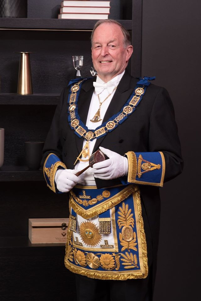 Our new Grand Master|  Graham Wrigley was installed as the Grand Master, of Freemasons New Zealand