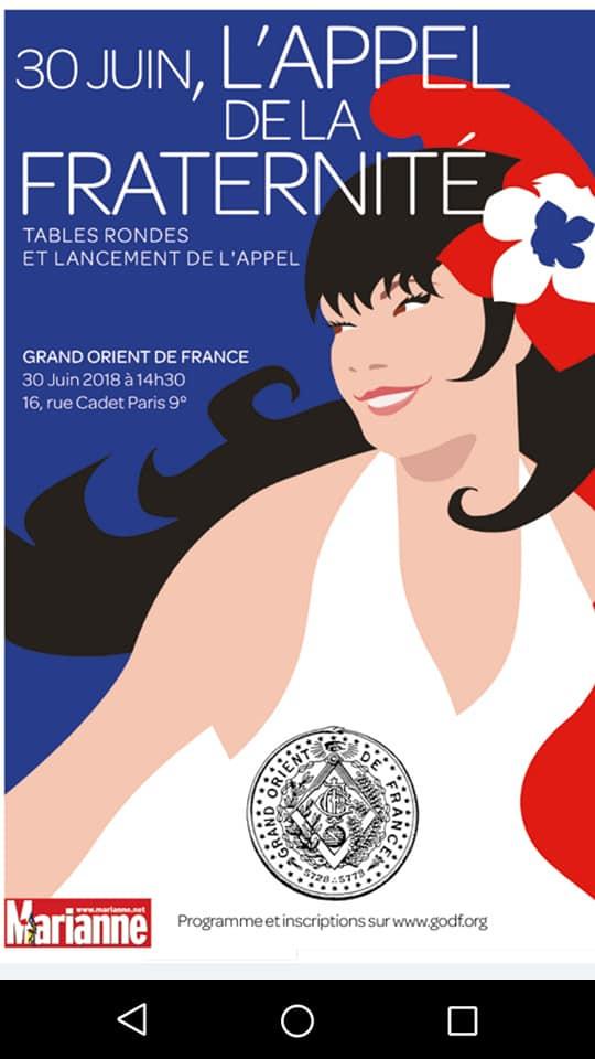 #AppelDeLaFraternite   Grand Orient de France