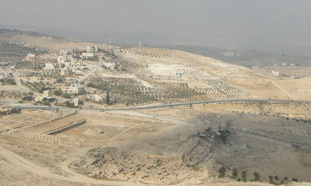 MY ISRAEL: THE HERODIAN palace/fortress.