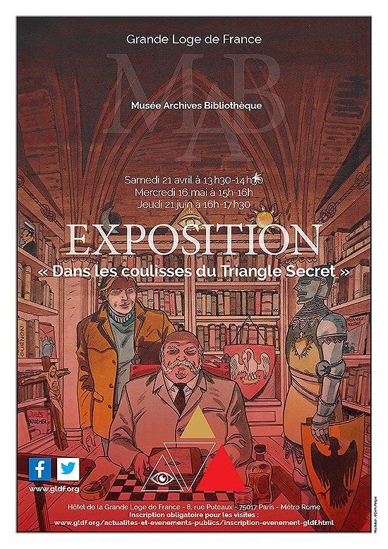 """EVENEMENT : EXPOSITION """"DANS LES COULISSES DU TRIANGLE SECRET"""""""