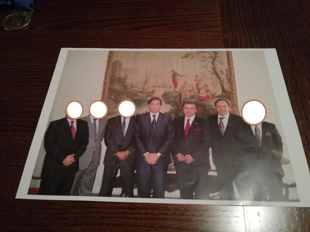 Memórias da Maçonaria em Portugal: - Apresentação de cumprimentos ao Senhor Primeiro-Ministro de Portugal (2011)