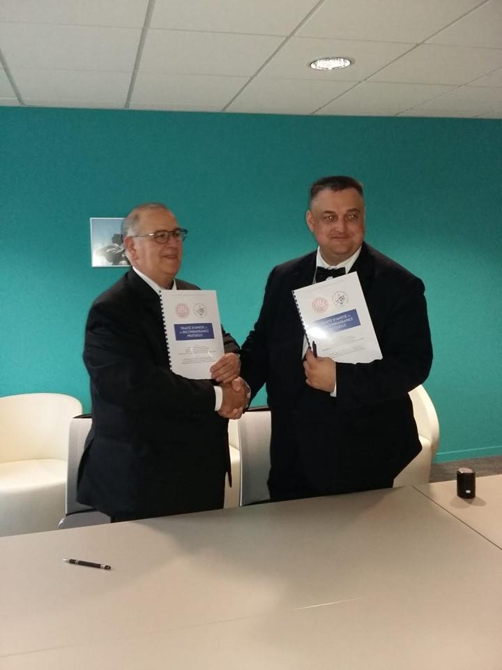 Сегодня, в Труа, был подписан договор о Дружбе и Взаимовизитации