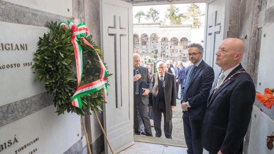 Homenagem a Domizio Torrigiani, o Grão-Mestre mártir antifascista italiano