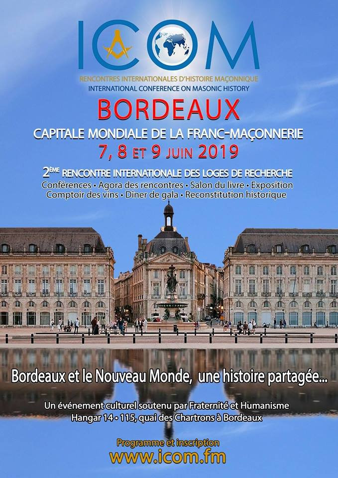 ICOM 2019 | Capitale mondiale de la Franc-maçonnerie