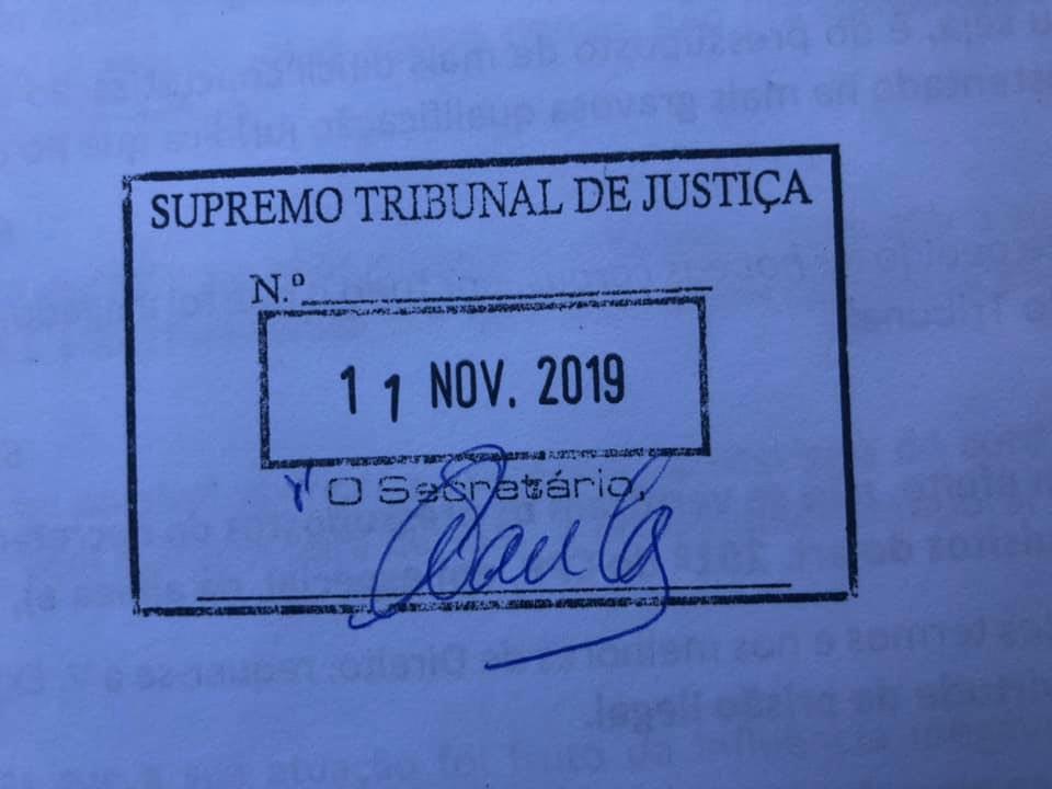 HABEAS CORPUS contra a prisão ilegal movido pelo Dr. Varela de Matos