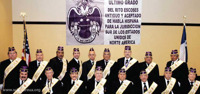 Supremo Consejo de Soberanos Grandes Inspectores Generales del Grado 33 del Rito Escocés Antiguo y Aceptado. Para la Jurisdicción Masónica de Habla Española En el Sur de los Estados Unidos de Norte América.