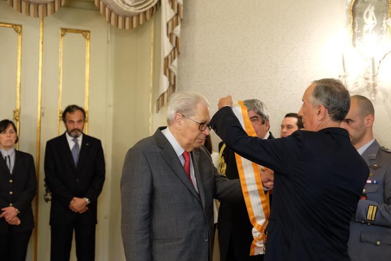 MY FRATERNITY   Dr.º António Arnaut recebe a Grã-Cruz da Ordem da Liberdade