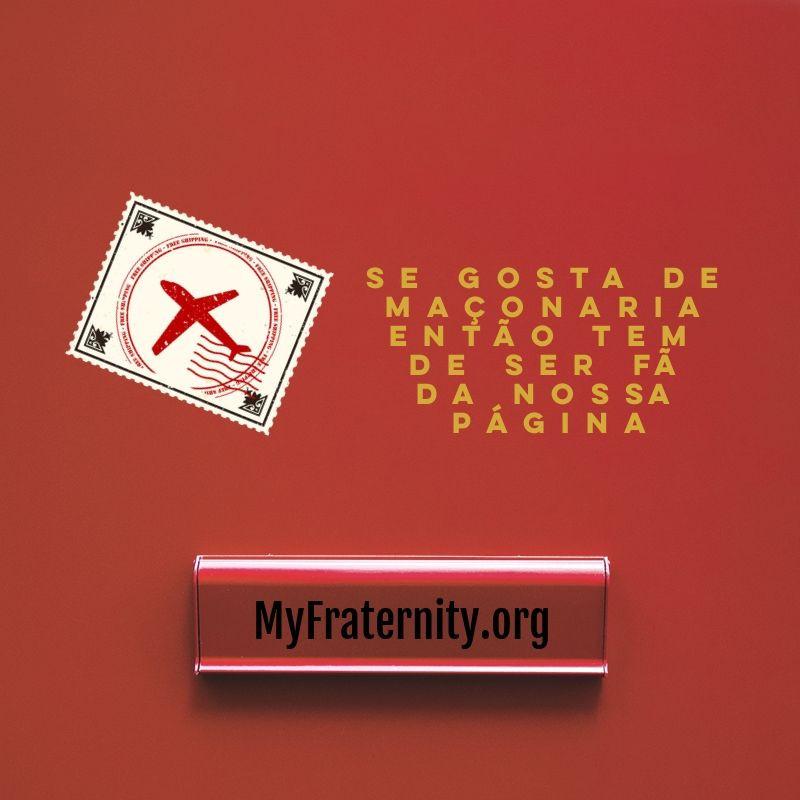 Se gosta de MAÇONARIA então tem de ser fã da nossa página. | www.myfraternity.org |