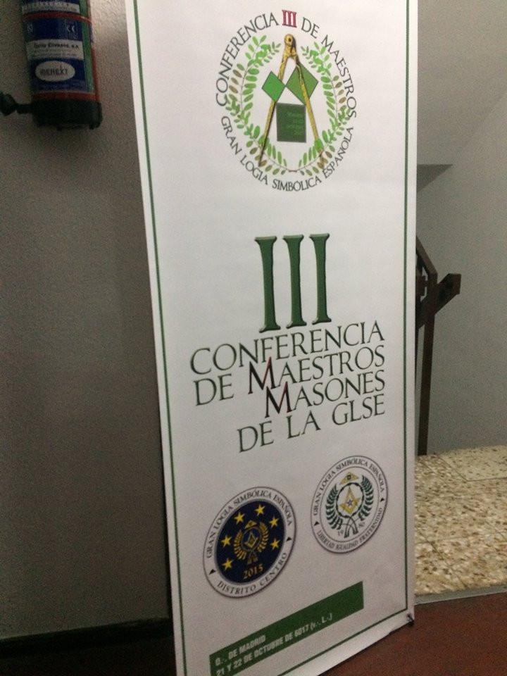 Intenso fin de semana de trabajo en Madrid para la Masonería Española
