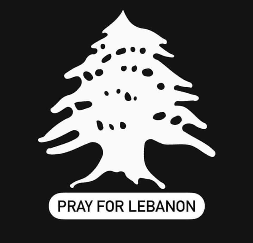 Une pensée fraternelle et solidaire dans la douleur de mes amis et tout le peuple libanais