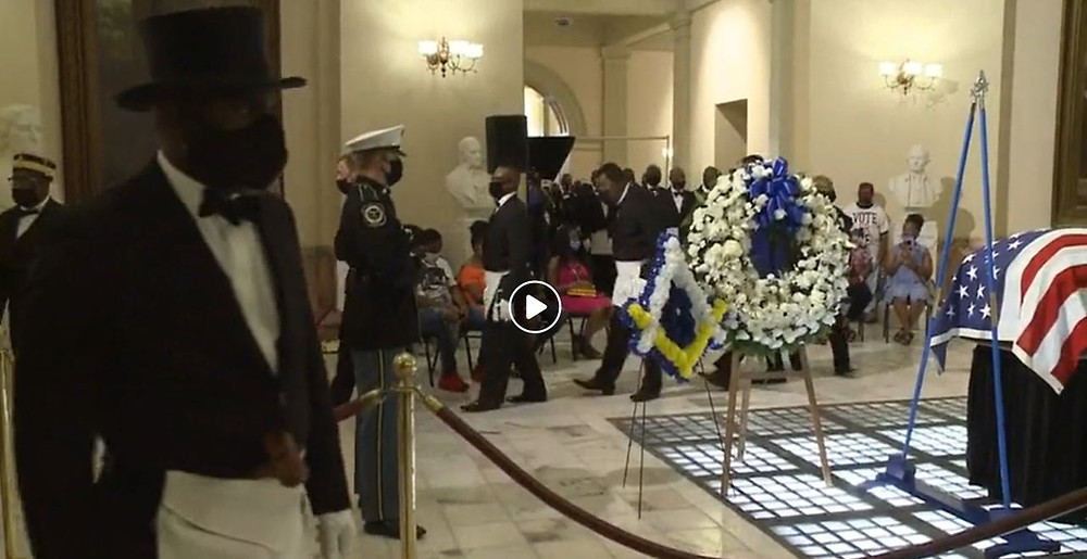 LIVE: Congressman John Lewis lies in state at Georgia Capitol rotunda | CBS46