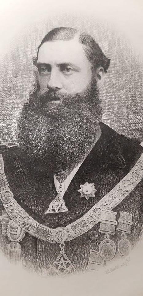 Freemasonry - Right Honorable The Earl of Lathom     MyFraternity Photo