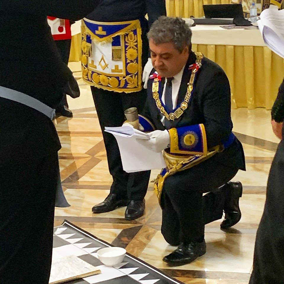 Freemasonry - Installation of the new Hyperion Lodge N60 | 01.08.2020 - GLR