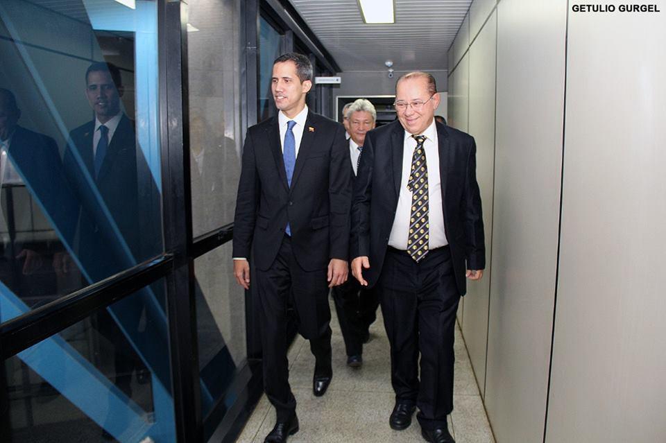 Irmãos brasileiros receberam o Irmão Guaidó | Brasil | Imagens