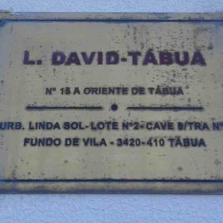 R.'.L.'. DAVID, n. 15, Tábua, Portugal. Memórias e Histórias da Maçonaria em Portugal