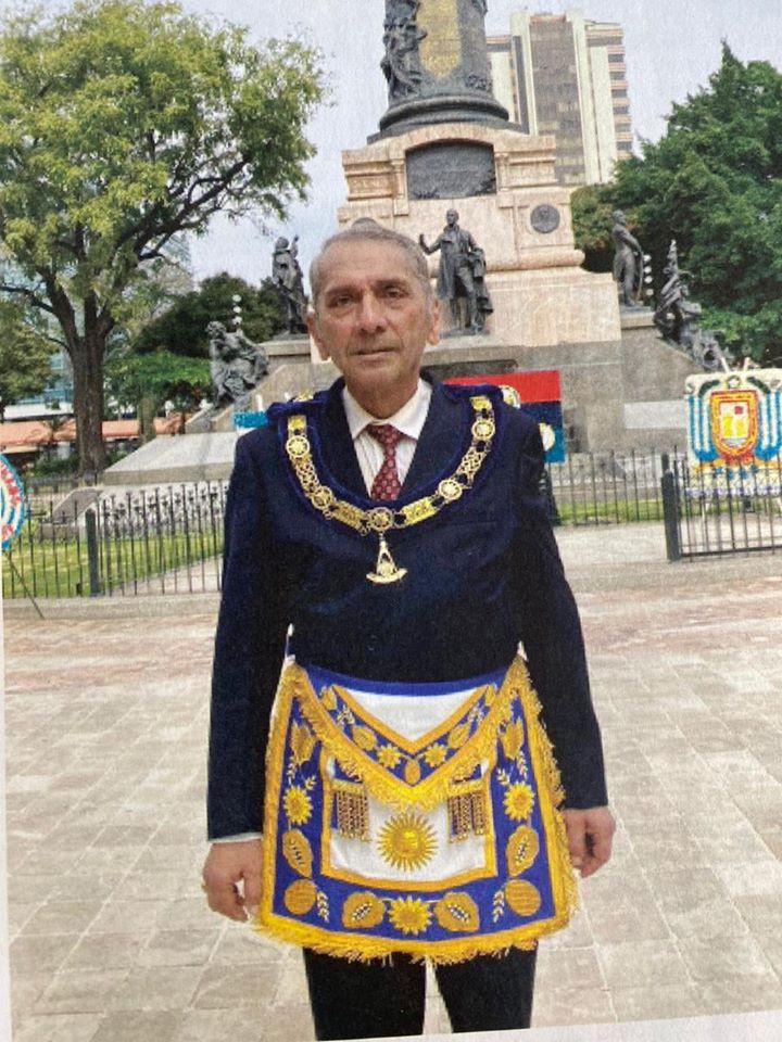 Fallecimiento del Muy Resp.'. H.'. Carlos Alejandro Balladares Grazzo, Gran Maestro de la G.L Ecuador