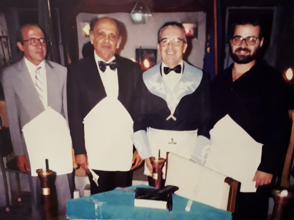 Mr. Synval Velho Barretto - My Initiation, May 3, 1981