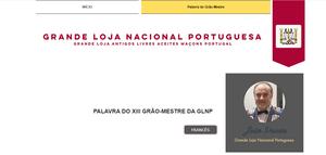 Prancha do XIII Grão-Mestre da GLNP | Parabéns, M.'. Resp.'. Ir.'. João Pavão