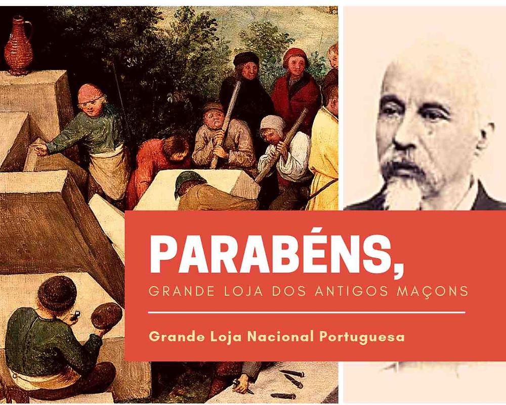 Parabéns, Grande Loja Nacional Portuguesa
