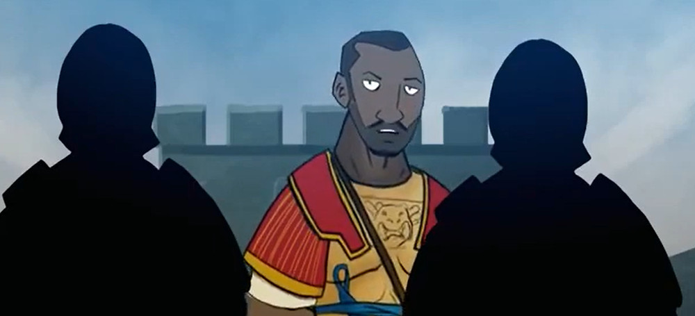 Sociedade - Roma - os negros não se inibiam e também foram legionários