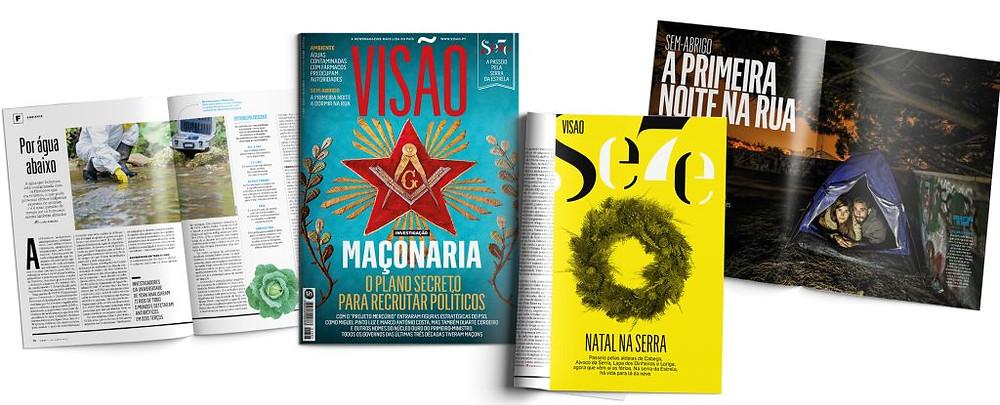A Revista Visão apresenta uma visão da Maçonaria