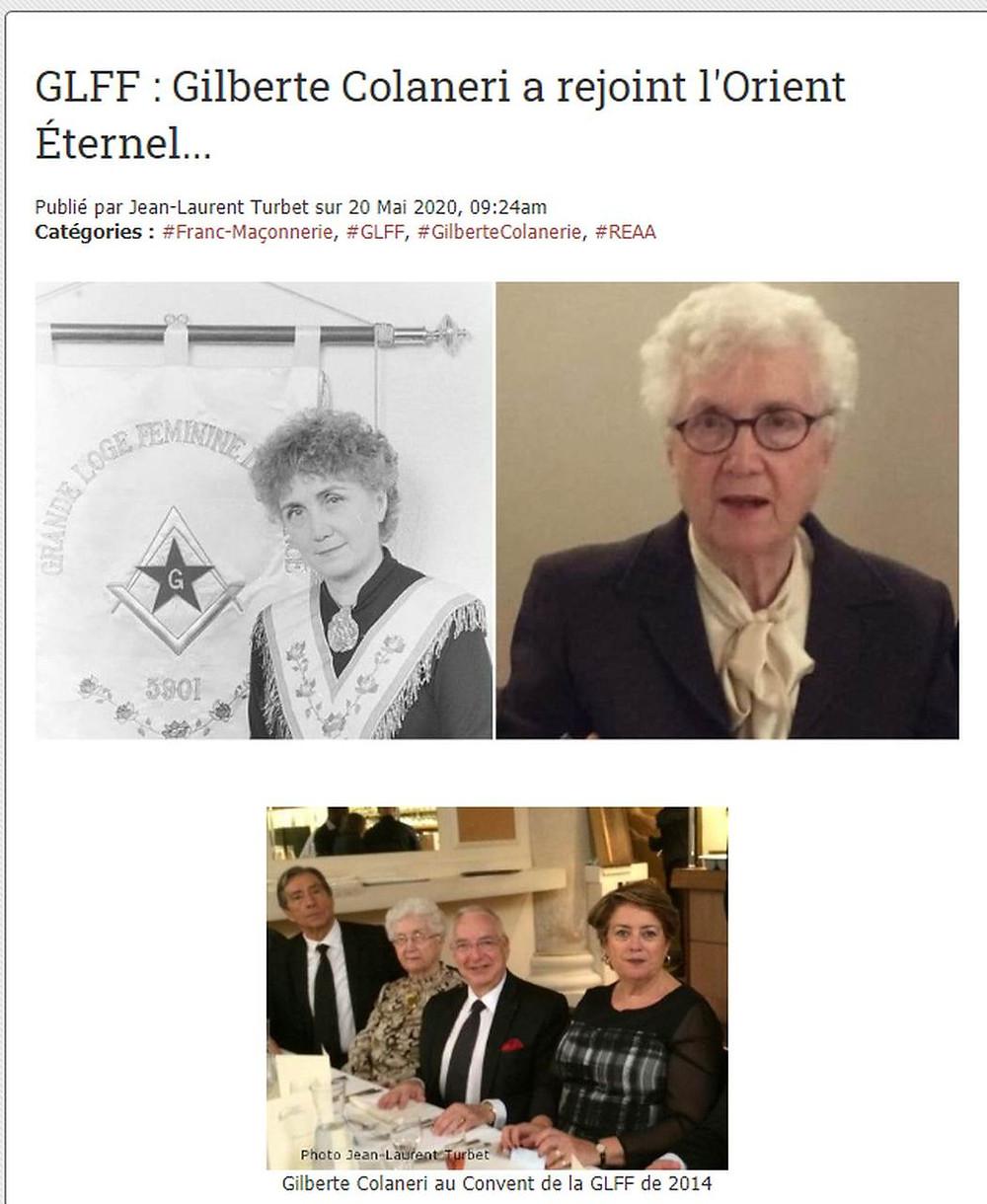 Irmã Gilberte Colaneri partiu para Oriente Eterno