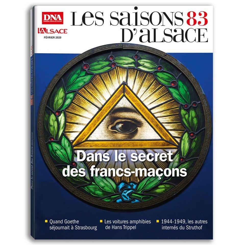 A nova «Saisons d'Alsace» é anunciada: Os segredos dos maçons, à venda no dia 15 de fevereiro!