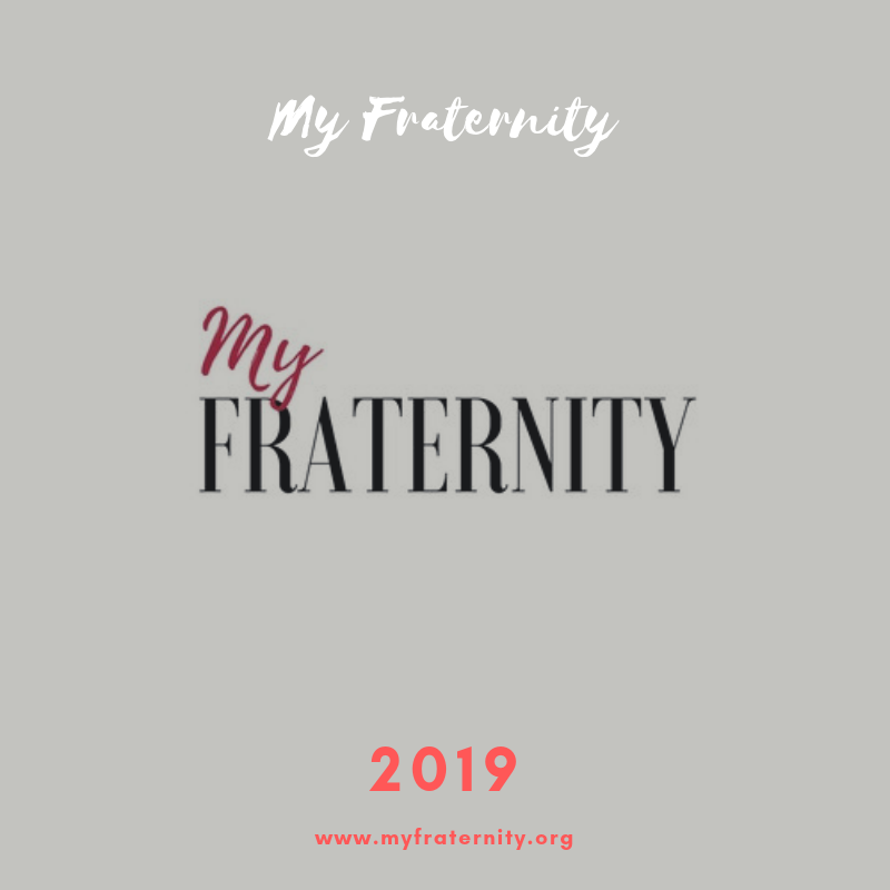 Bom ano em 2019 | Votos do My Fraternity | Happy New Year 2019 | www.myfraternity.org
