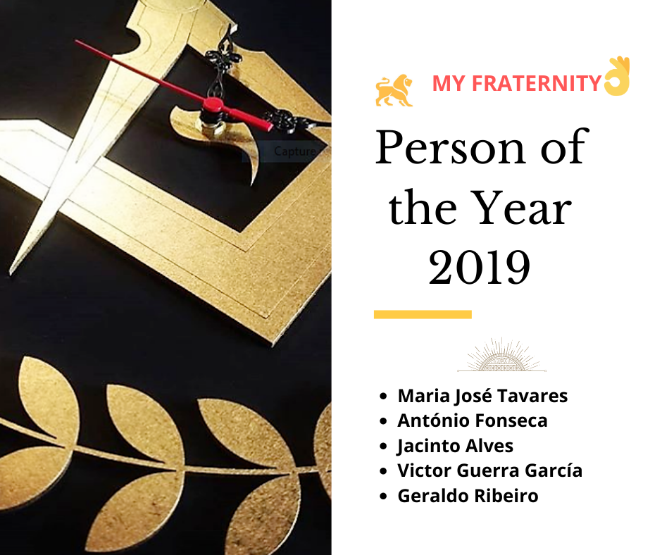 PERSON OF THE YEAR 2019 || My Fraternity