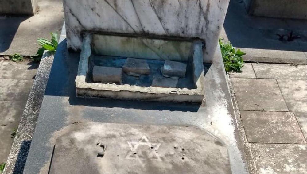 Argentina: Mais de 30 sepulturas são profanadas no cemitério israelita de Tucumán