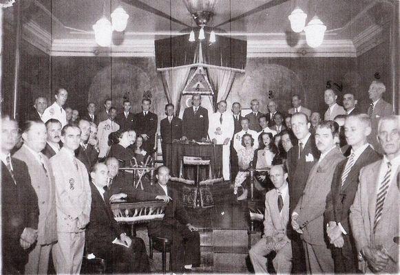 Loja Maçónica Fraternidade e Luz com 120 anos