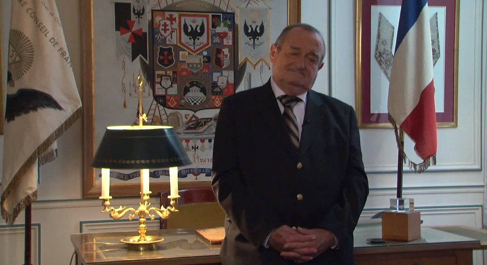 """""""La vocation du @Suprême Conseil de France"""", par Claude Collin, le Très Puissant Souverain Grand Commandeur du Rite"""