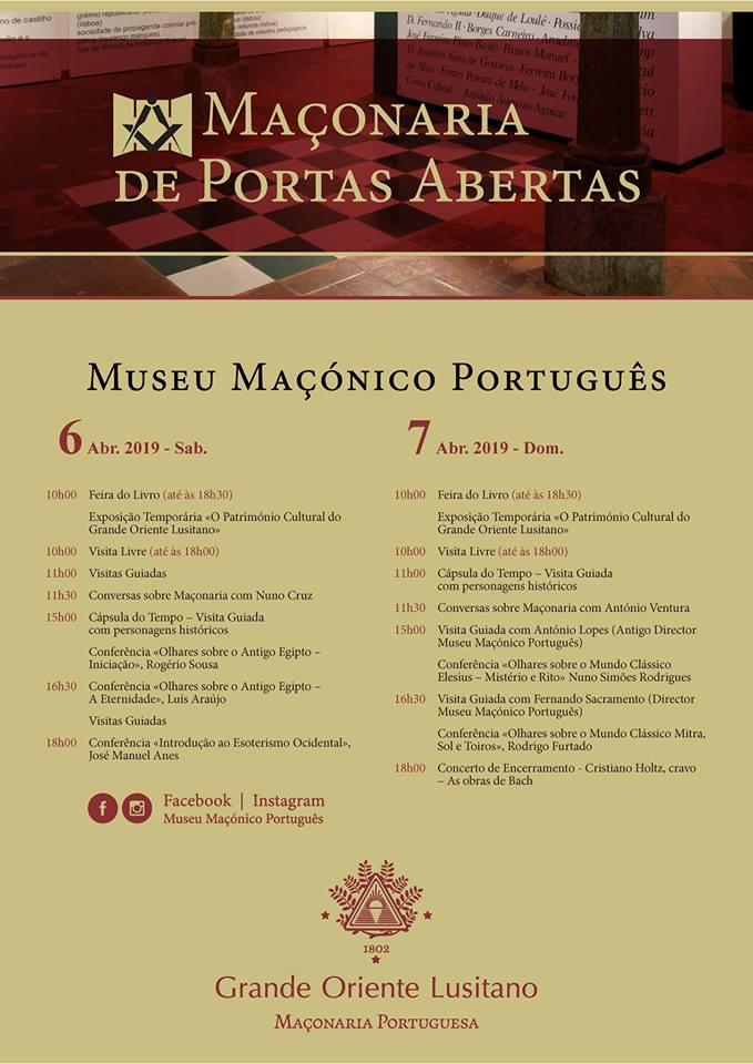 Programa | Museu Maçónico Português