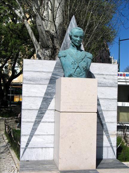 «Mártir da Liberdade», General Gomes Freire de Andrade. Ele e mais onze companheiros.