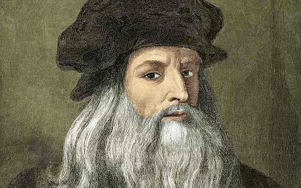 LEONARDO Y LOS COMPAÑEROS DE LA DIVINA BOTELLA   Leonardo de Vinci