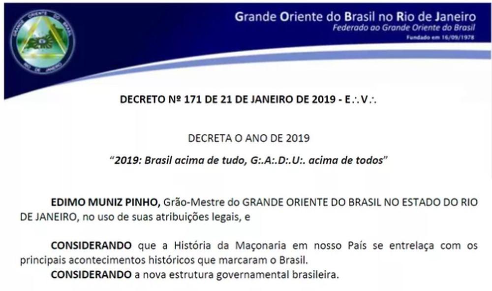 Maçonaria Regular vs Bolsonaro | A Regularidade insular proíbe a relação política?