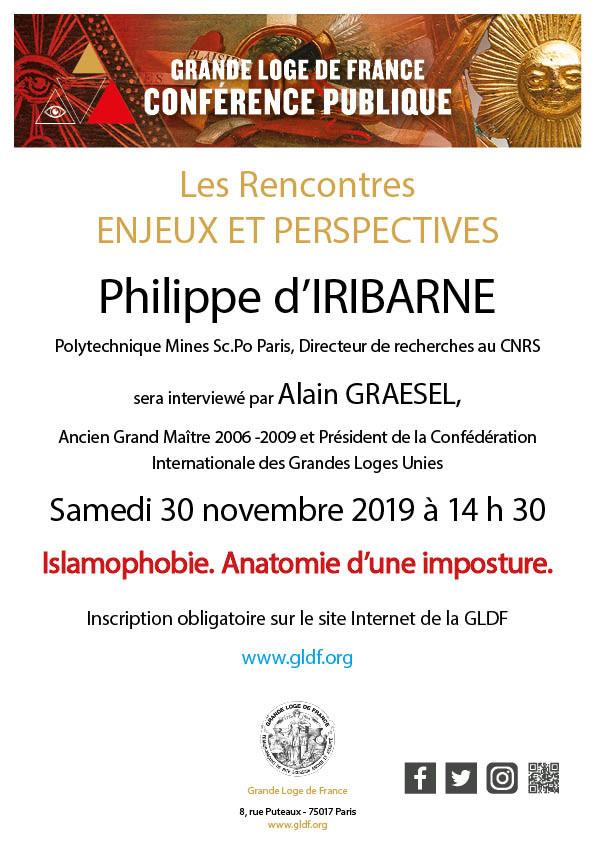 """ISLAMOPHOBIE. ANATOMIE D'UNE IMPOSTURE"" | GLdF"