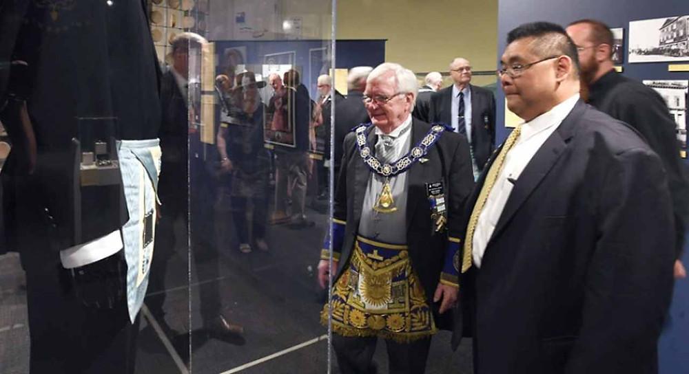 Foi inaugurada uma exposição maçónica denominada por «The Exploration Place, Lifting the Veil: Freemasonary Now».
