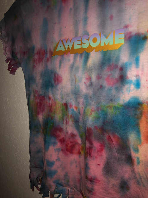 Awesome Tie Dye Shirt