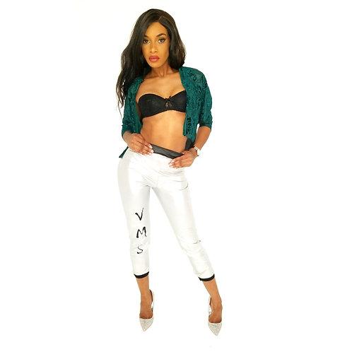 Womens Green/White Set