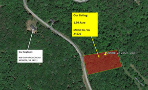 Nearly 2 Acres of Unrestricted Lot in Bedford, VA