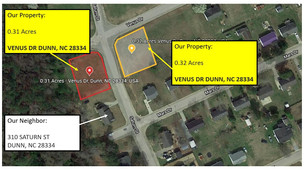 2 Lots with Water and Sewer - Harnett County, NC - 0.31 Acre